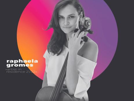 Cellistin Raphaela Gromes: erster Auftritt als Artist in Residence 2021/2022