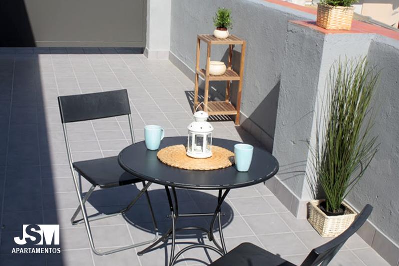 algunos de nuestros apartamentos tienen terraza