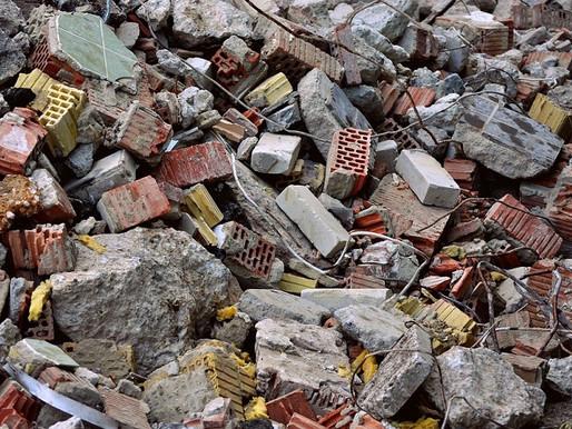 Reutilizar materiales de construcción después de una demolición