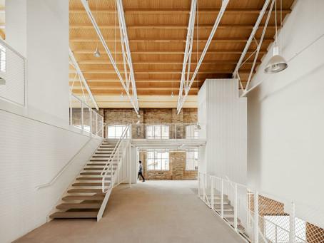 La transformación de la antigua fábrica textil de Fabra & Coats de Barcelona