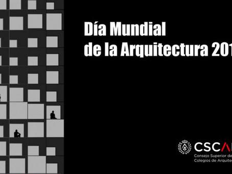7 de octubre, Día Mundial de la Arquitectura