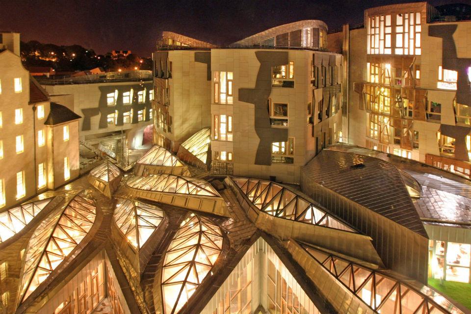 Scottish-Parliament-Lighting