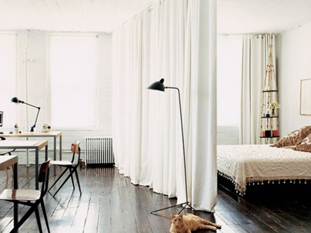 Redefinir el espacio: las cortinas