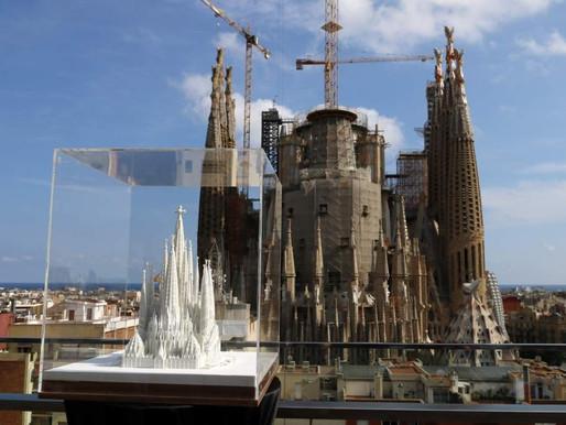 La Sagrada Familia será el edificio más alto del 'skyline' de Barcelona en 2020