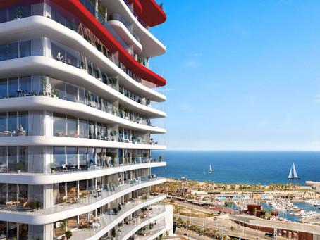 Antares, un rascacielos de lujo en Barcelona, de la arquitecta Odile Decq