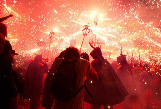 Fiesta de la primavera en l'Hospitalet de Ll.