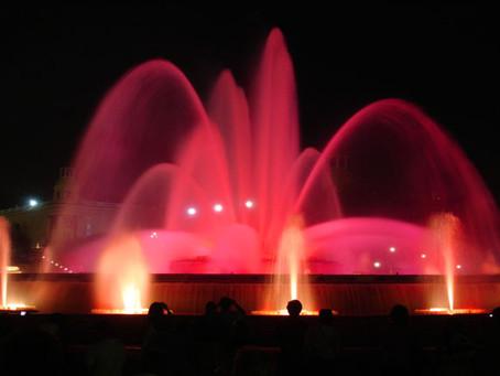 Fuente Mágica, uno de los mejores eventos de Barcelona!
