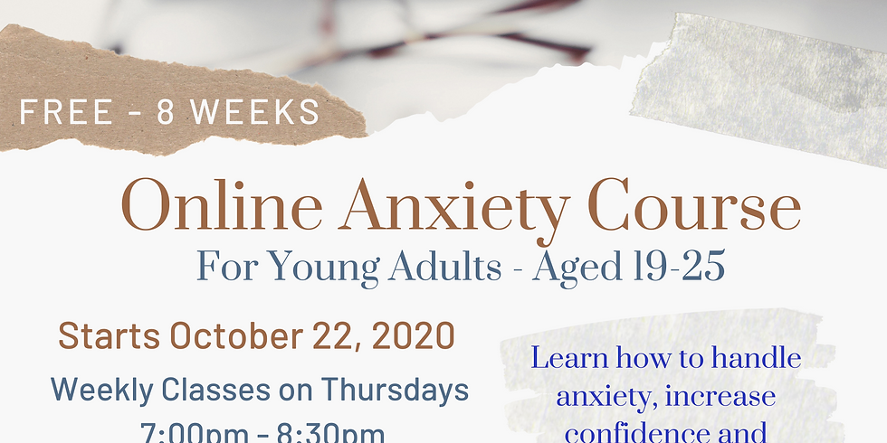 Anxiety Group for Young Adults Aged 19-25