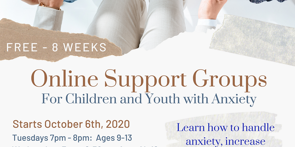 Anxiety Group for Children and Youth