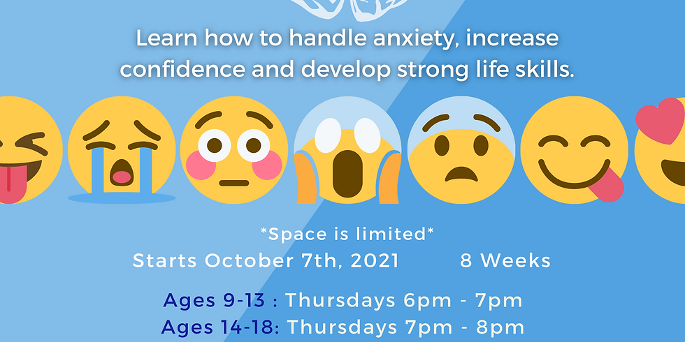 Online Anxiety Class and Support Group