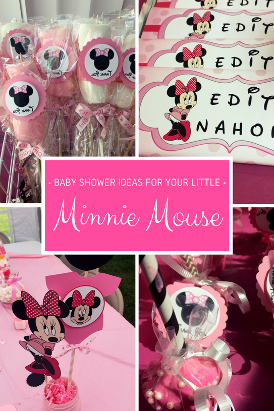 Baby Shower ideas for your Little Minnie Mouse
