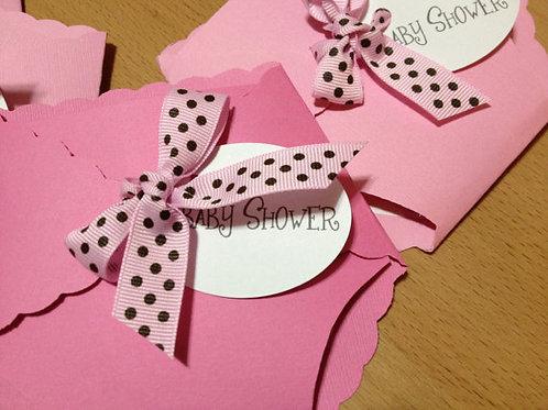 Baby Girl Diaper Invitation