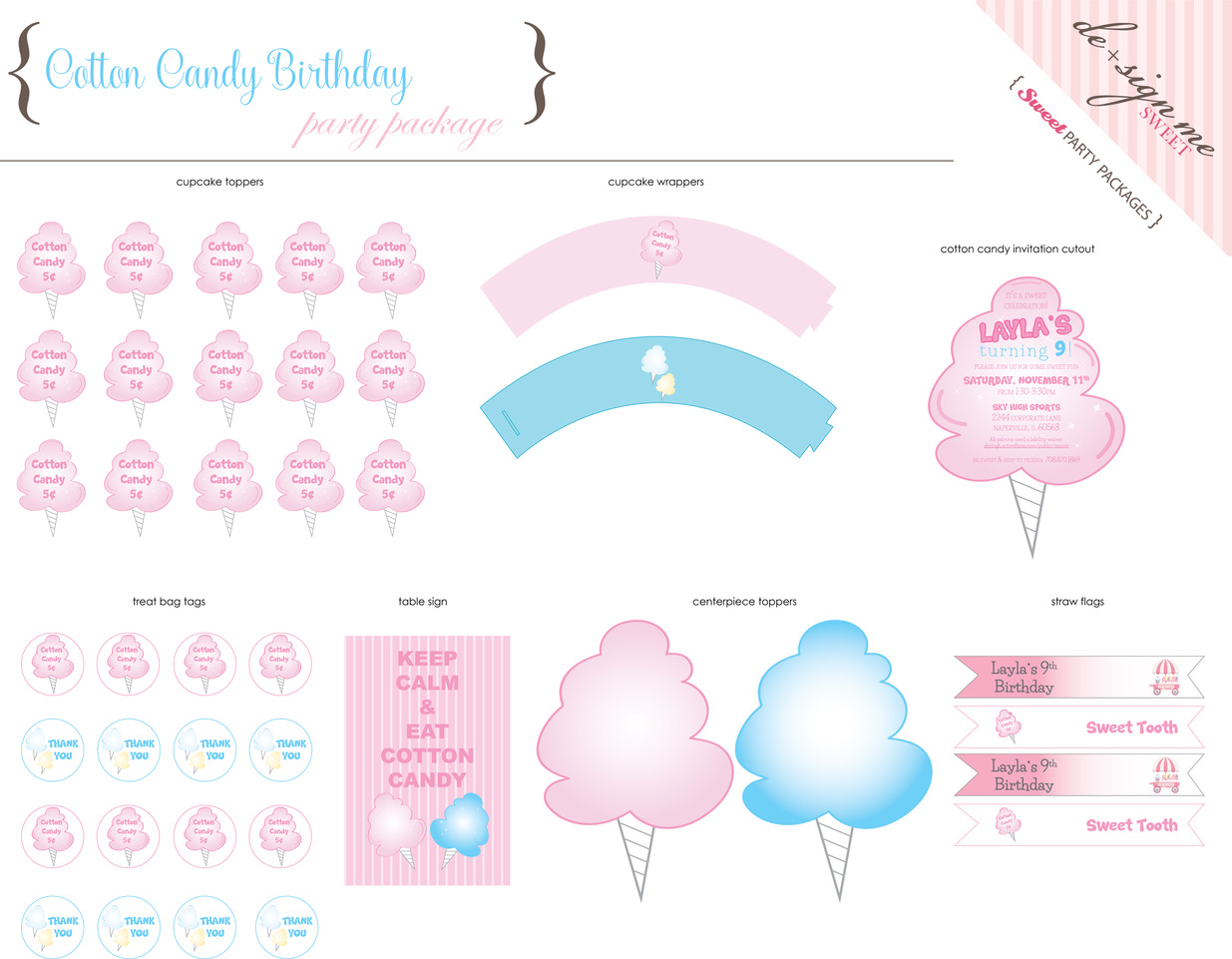 Cotton Candy Birthday