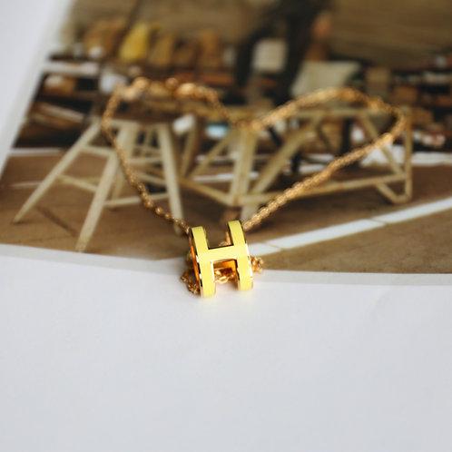 Pop H Necklace
