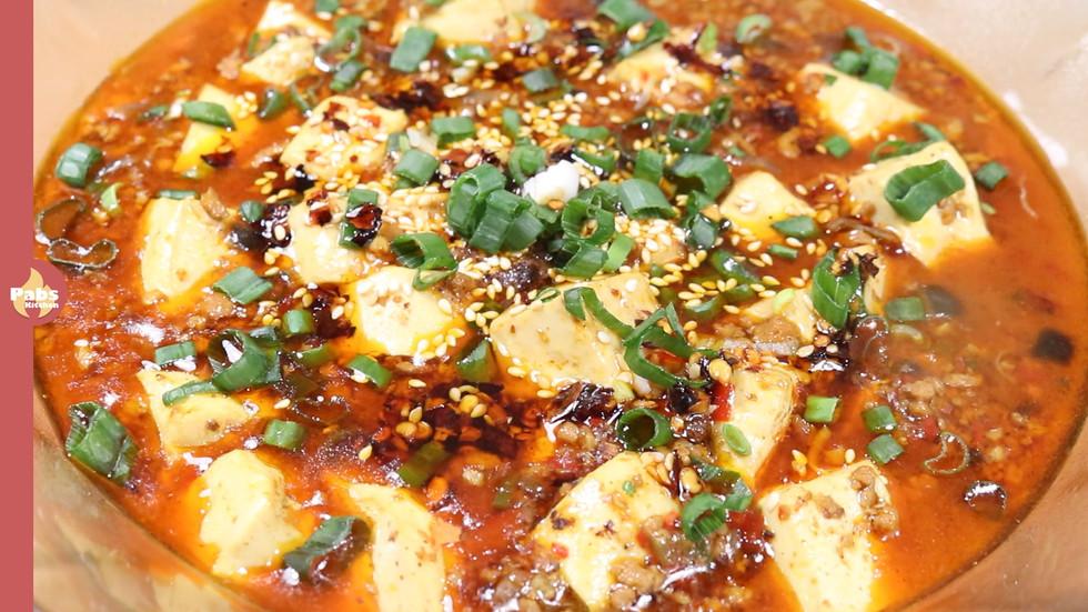 Mapo Tofu / Spicy Minced Meat & Tofu