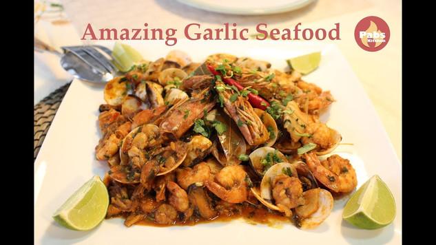 Amazing Garlic Seafood