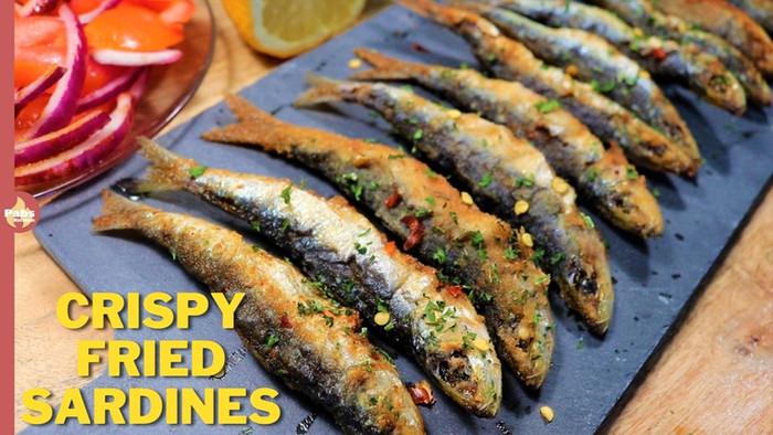 Crispy Fried Sardines