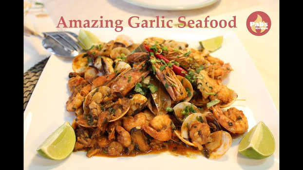 Amazing Garlic Seafood
