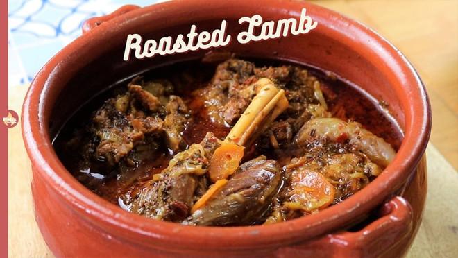Clay pot Roasted Lamb | Slow Roast Lamb