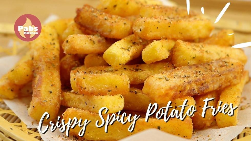 Crispy spicy Potato Fries