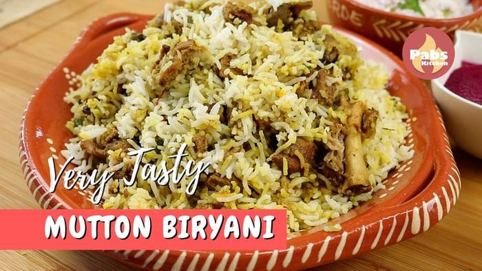 Very Tasty Mutton Biryani
