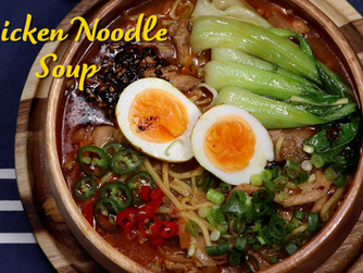Chicken Noodles Soup | Thukpa