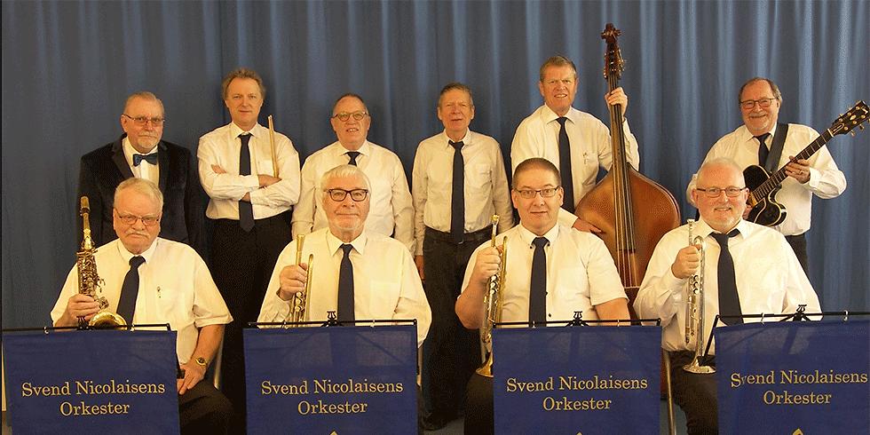 Søndagsmartiné med Svend Nicolaisens orkester - pris kun 250,-