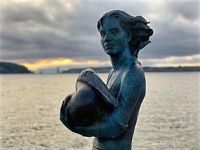 Neptune's Daughter Sculpture, by Artist Lisa Reinertson