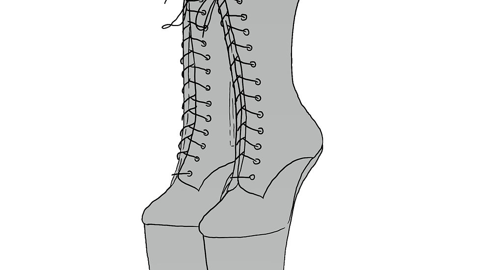 Heelless Ankle Boot