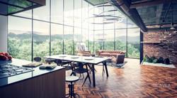 Interior Loft Retro