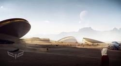 concept art desert