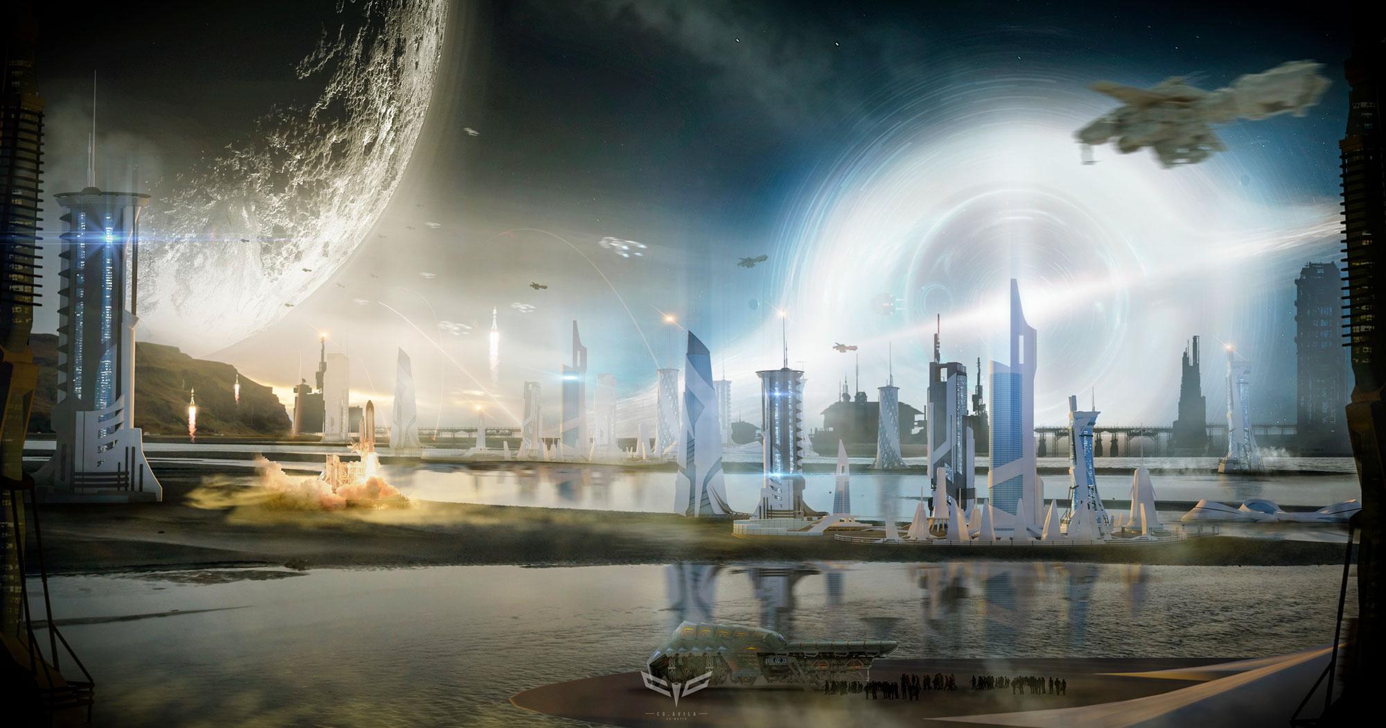 Concept art Utopia 2