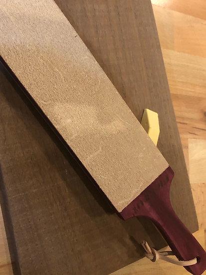 Fine Leather Paddle Strop