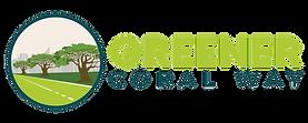 Greener Coral Way NEW Logo_Horizontal_Ta