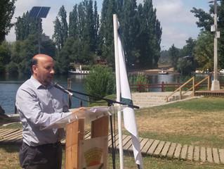 Municipio, Cámara de Turismo y vecinos conmemoraron Día Internacional de los humedales en Trumao