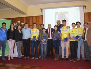 Deportistas destacados participaron en ceremonia de entrega de Becas Municipales 2017
