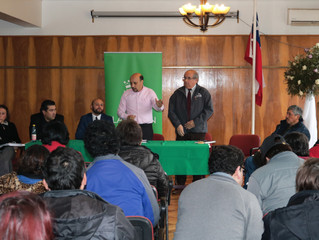 Alcalde se reúne con vecinos de Cudico Carimanca y se vislumbran grandes avances en el tema de la el