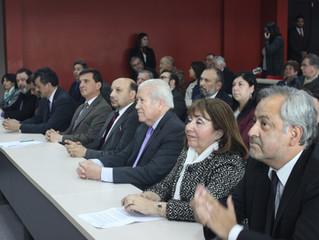 Alcalde participa en entrega de Proyecto Educativo para CFT de La Unión