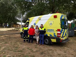 Funcionarios y autoridades del Juan Morey pondrán ambulancia a disposición del público durante desar