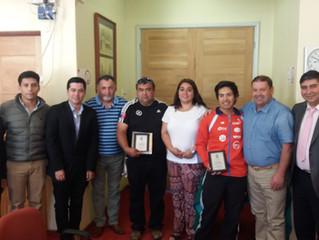 Sesión de Concejo destaca por reconocimiento y apoyo al deporte en la comuna