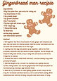 Gingerbread man recipe The Place Faringdon