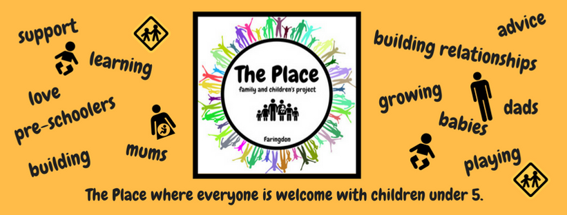 The Place Family support pre-schoolers