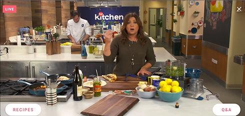 Rachel Ray Food Network Kitchen Live