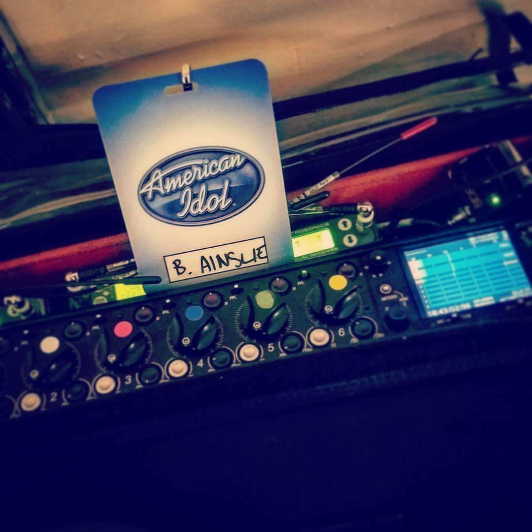 NY Sound Mixer on American Idol
