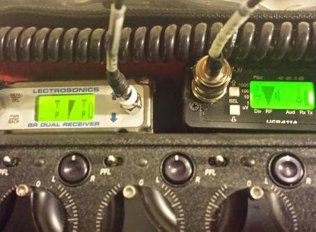 Lectrosonics SRb vs UCR411a SxS test HrGA Bagalllo...3.1