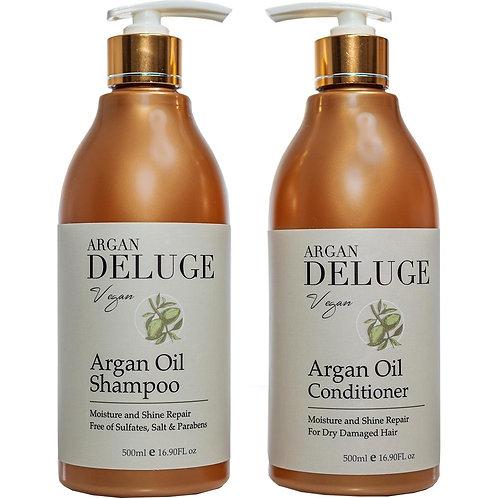 Sulfate Free Argan Oil Shampoo and Conditioner