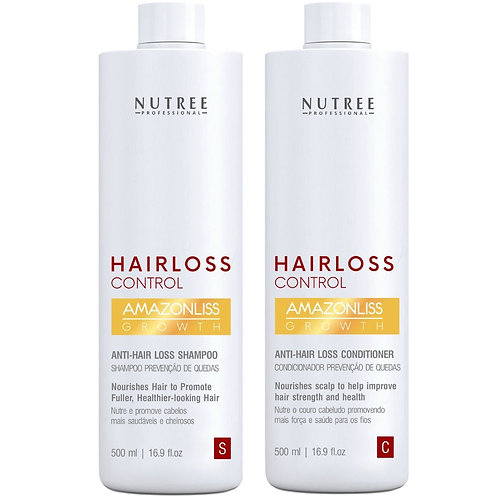 16.9 fl.oz - Anti Hair Loss Shampoo and Conditioner for Women and Men