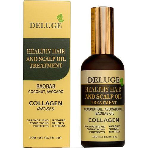 Healthy Hair and Scalp Oil Treatment
