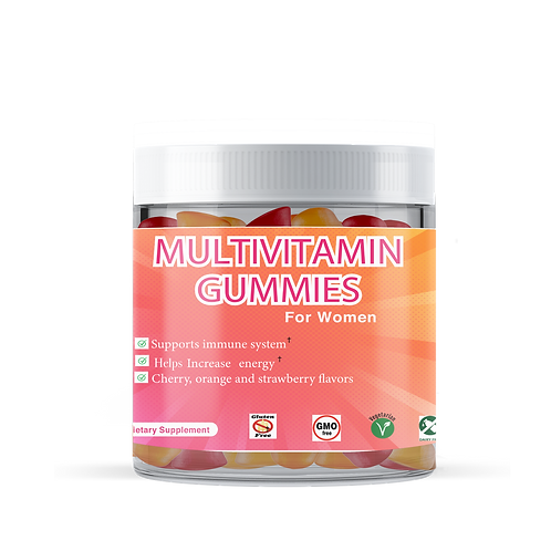 Multi Vitamin Mixed Flavor Gummies for Women