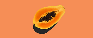 Fruit papaya cut in half, food drink..pn